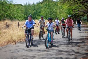 Maui County Councilman Don Couch and his wife Leslie lead the charge along the proposed West Maui Greenway.